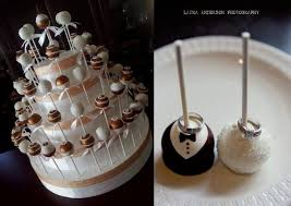 One Dozen Bride And Groom Wedding Cake Pops Melindasmarvels
