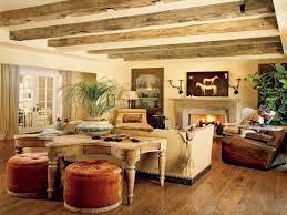 Home Design: Rustic Living Room Home Design Striking Pictures ...
