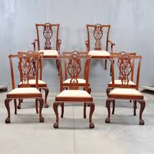 antique dining room chairs. Set Of Dining Chairs And Armchairs De Grande Antiques Antique Room Ireland O