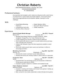Best Public Relations Assistant Resumes Resumehelp