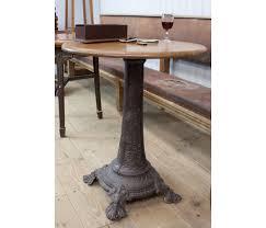 cast iron 4 foot nouveau pedestal table