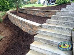 build a timber retaining wall build curved timber retaining wall