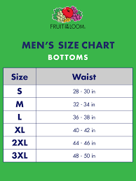 68 Explanatory Brief Size Chart For Men