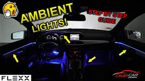 Easy Ambient Light Install On A Mercedes Or Any Car