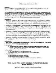 essay leader  images about facs leadership on pinterest  leadership   definition