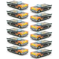 Harley Davidson Party Decorations Classic Cruisers 12 Pack 57 Chevy Hot Rod Car Party Favors