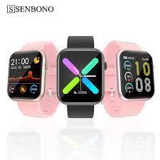 SENBONO 2020 R3L Đồng Hồ Thông Minh Nam Cảm Ứng Đầy Đủ Theo Dõi Huyết Áp Đồng  Hồ Thông Minh Nữ GTS Đồng Hồ Thông Minh Smartwatch Dành Cho IOS Android  IWO