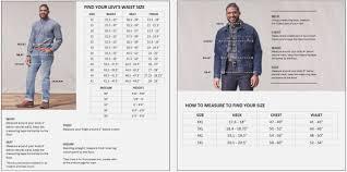 Levi 501 Jeans Size Chart Levis T Shirt Mens Size Chart Coolmine Community School