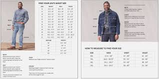 Levis T Shirt Mens Size Chart Coolmine Community School