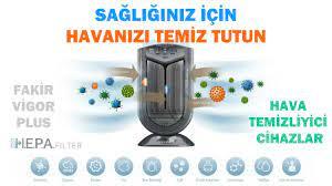 Sağlığınız için Havanızı Temiz Tutun; Fakir Vigor Plus Hava Temizleme  Cihazı Ürün Özelikleri - YouTube