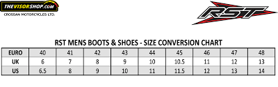 Motorcycle Boot Size Chart Related Keywords Suggestions