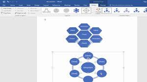 Smart Art Design Word How To Insert Or Add Smartart In Microsoft Word 2017