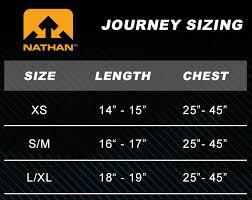 Nathan Size Chart Nathan Journey Size Chart Jpg