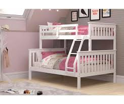 Image Twin Over Moms Bunk House Mission Bunk Bed Twin Over Full White Wood Bunk Beds