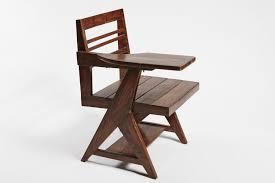 class writing desk chair by pierre jeanneret