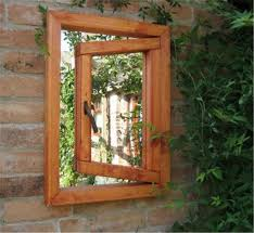 garden mirrors. Open Small Window Illusion Garden Mirror Mirrors G