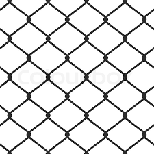 metal chain fence. Exellent Chain On Metal Chain Fence