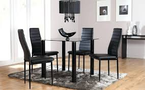 black glass dining table set cool black glass dining room sets about remodel small dining room