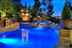 beautiful pools with waterfalls. Plain Pools Beautiful Swimming Pools Fireplace Waterfall Olpos Design For With Waterfalls M