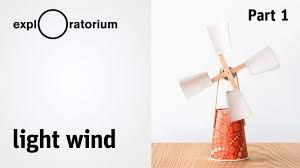 easy diy wind turbine light wind