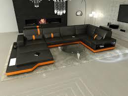 Luxus Design Sectional Sofa Messana Illuminated 349900