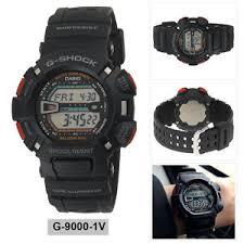 casio digital sport watch g shock mudman black mens g 9000 1v image is loading casio digital sport watch g shock mudman black