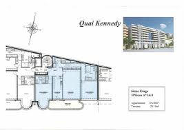 Quai Kennedy Group Pastor Apartment Rental In Monaco