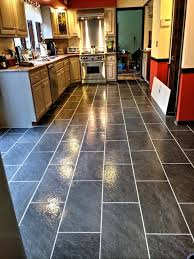Small Picture Nice Kitchen Flooring Installation Installing Your Peel And Stick
