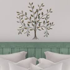 stratton home decor stratton home metal tree of life wall decor s07692 the home depot