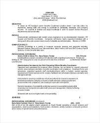 18 Sample Resume Objectives Pdf Doc Free Premium Templates