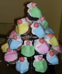 Coolest Homemade Baby Cupcakes Cakes