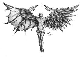 Angel Sketch Angel With Different Wings Sketch Best Tattoo Designs
