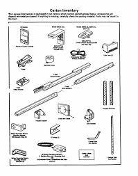 garage door opener partsGarage Doors  Hp Craftsman Garage Door Opener Parts Manual Keypad