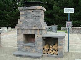image of precast outdoor fireplace manufacturers