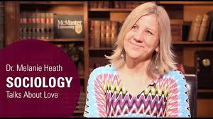 Dr. Melanie Heath, Sociology Talks About Love - YouTube