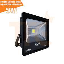Đèn pha LED năng lượng mặt trời Elink chính hãng, công suất 50W (kèm tấm  pin, bảo hành 2 năm 1 đổi 1)