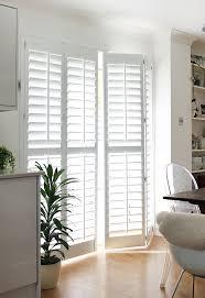patio door coverings shutters inside