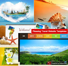 Travel Templates Pleasing Travel Website Templates Entheos