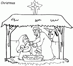 Small Picture Coloring Pages Christmas Nativity Coloring Pages Christmas