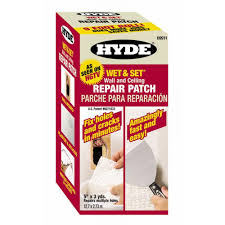 hyde wet and set patented wall and ceiling patch roll