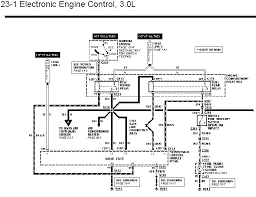 wiring diagrams are needed for an aerostar to a ranger engine swap 3 0l aerostar pcm diagram 1 jpg