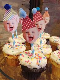 1st birthday party ideas not at home. easiest diy cupcake toppers for a first birthday party \u003c3 1st ideas not at home m