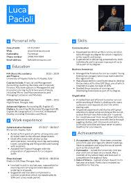 Resume Examples By Real People Student Accountant Resume Sample