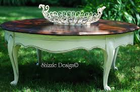 using my given talent zle design diy painted round coffee table 007roundfrenchcoffet mexican ideas