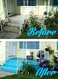 diy painted concrete patio painted concrete patio ideas inspirational how to paint a concrete patio or