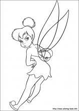 Small Picture Tinkerbell coloring pages on Coloring Bookinfo