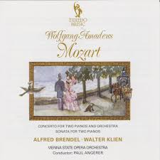 <b>Alfred Brendel</b> & Walter Klien: <b>Mozart</b>: Concerto for Two Pianos and ...