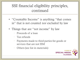 Presents Supplemental Security Income Ssi Overview With