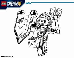 Nexo Knight Coloring Pages At Getdrawingscom Free For Personal