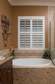 bathroom interior shutter blinds